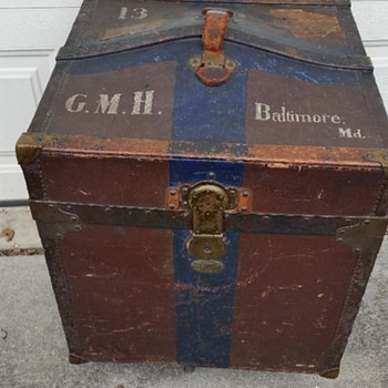 Hat Trunk - Furniture