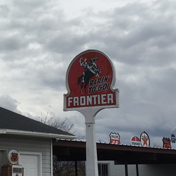 Frontier Gas - Signs