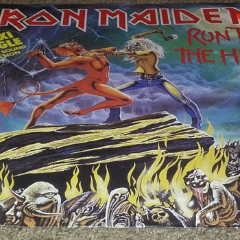 IRON MAIDEN..GERMAN IMPORT..EXTENDED PLAY - Records