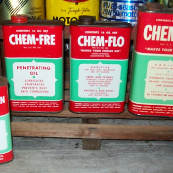 Chem products of Indiana oil additive,penatrating oil,and road tar remover - Petroliana