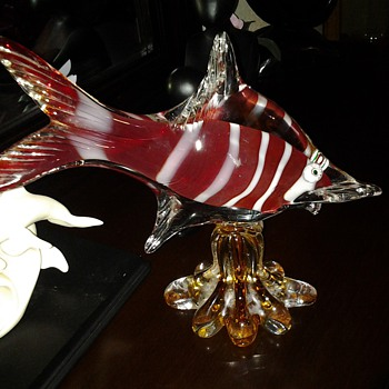 HAND BLOWN FISH - Art Glass