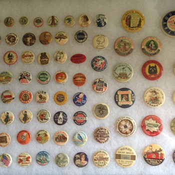 Sampling of my collection - Medals Pins and Badges