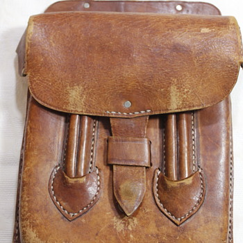Old Leather Satchel - Bags