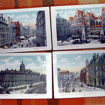 1900-1910-old birmingham-victorian postcards.