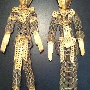 Ancient Singapore Coin Dolls - Asian