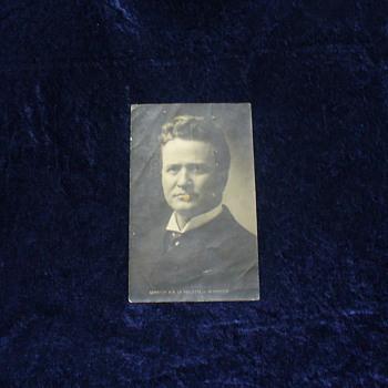 Wisconsin Senator Robert M. La Follette, Sr. Postcard circa 1900