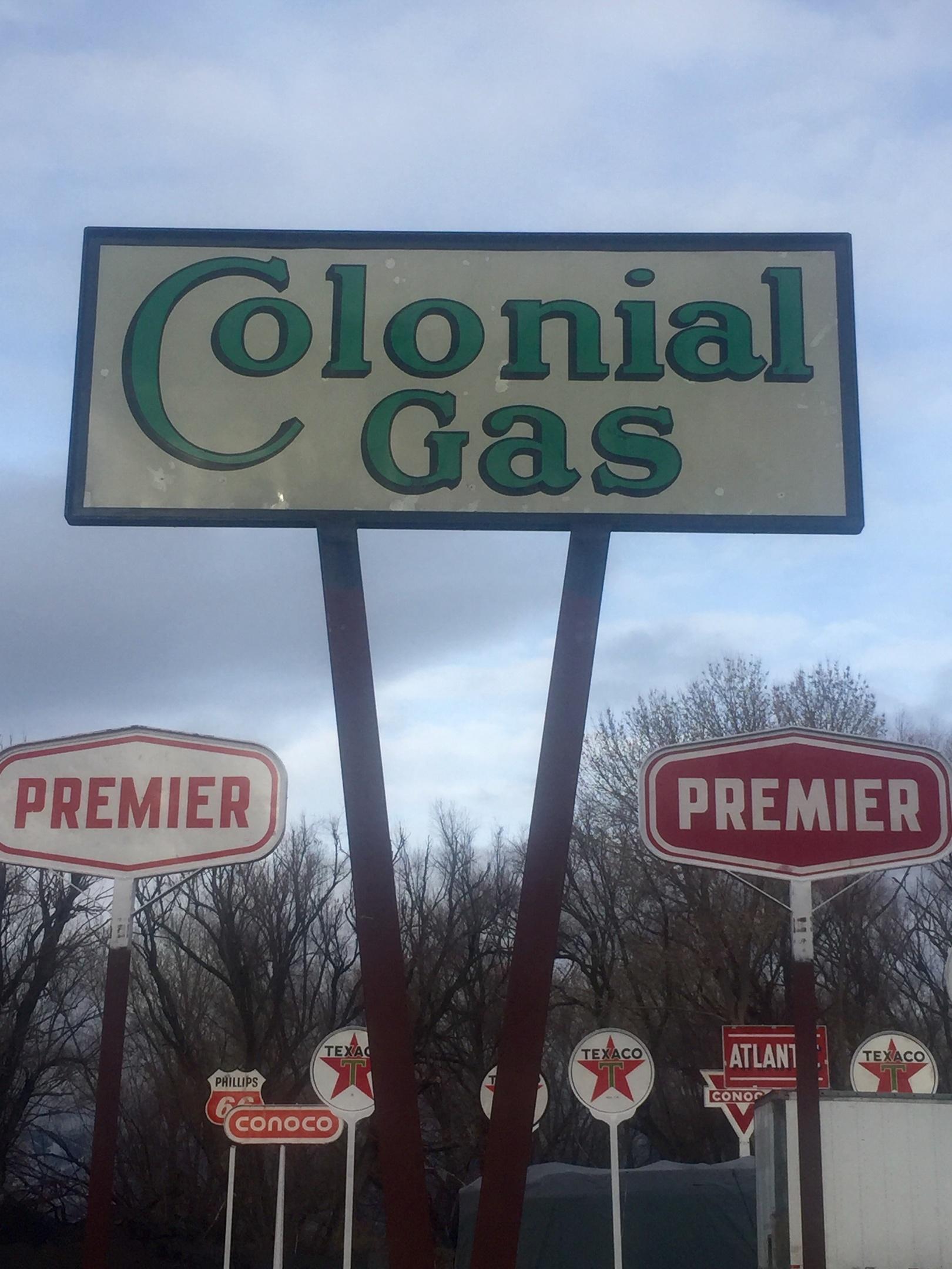 Colonial Gas   Collectors Weekly