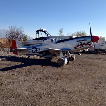 More P-51 Progress - Military and Wartime