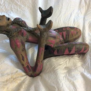 Indian statue? - Fine Art