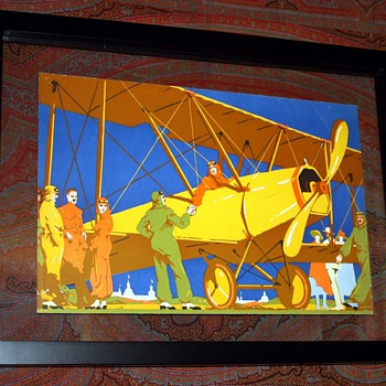 Bi-plane handshake - Posters and Prints