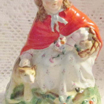 English Staffordshire, Red Riding Hood, c.1860 - Figurines
