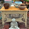Beautiful Wicker Table in Excellent Original Condition
