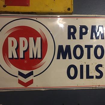 RPM motor oils - Petroliana