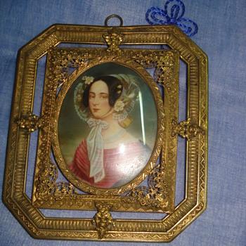 Portrait of Maria Anna of Savoy signed Daffinger - Fine Art