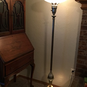 Newly acquired torchiere lamp - Lamps