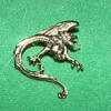 Vintage Brooch ~ Wyvern