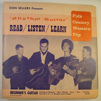 Guitar Lessons Records 1960's