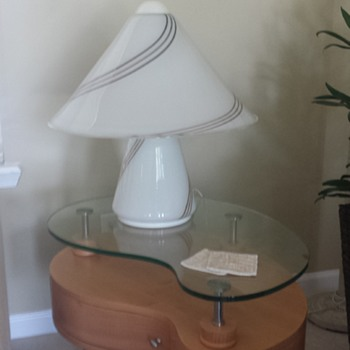 Glass Mushroom Table lamp - Lamps