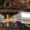 Matchbox Kingsize K-4 Fruehauf Hopper Train