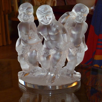 Lalique Figurine  - Art Glass