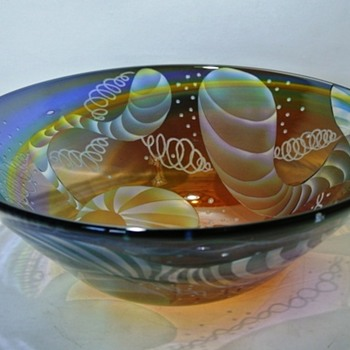 Bowl by Tadashi Kudo, Glass Nao - Art Glass