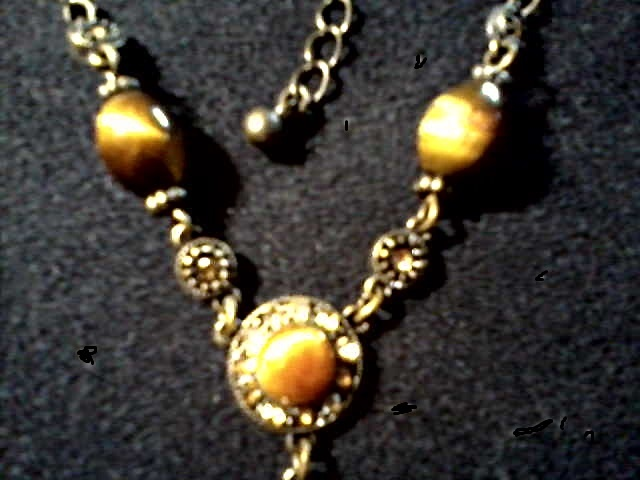 Vintage Avon Nr Necklace And Ear Rings Circa 20th
