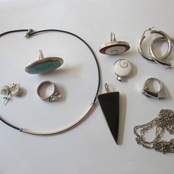 Flea market finds - silver