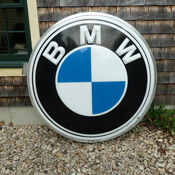 BMW Motorcycle Shop Sign - Signs