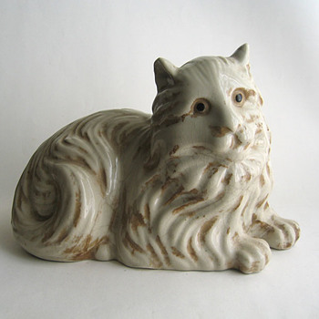 Cat ceramic - Animals
