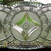 Third Plate Bohemian Brilliant Cut Glass