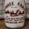 GUSHEE FARM...DORCHESTER MASSACHUSETTS...BABY TOP MILK BOTTLE
