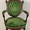 Corsette Back Parlor Arm Chair