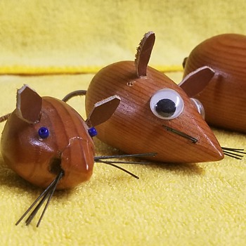 Danish Wood Mice - Toys