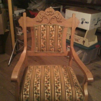 Grandparent's chair (possibly German?)