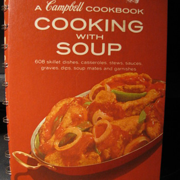 """Cooking with Soup"" A Campbell Cookbook - Books"