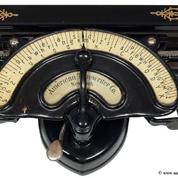 American typewriter - 1893 - Office