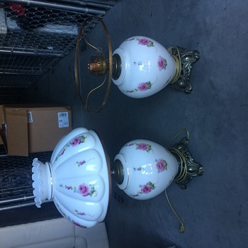 Need help to identify these lamps !! - Lamps
