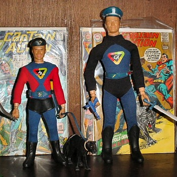 The Captain Action 50th Anniversary - Toys