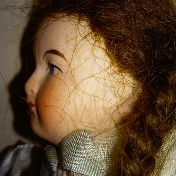 "6"" Antique Bisque European Doll"