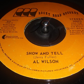 45 RPM SINGLE....#100 - Records