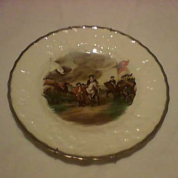 WASHINGTON  CHINA PLATES - China and Dinnerware