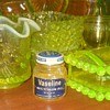 Vintage Vaseline Jar with Contents Circa 1960s