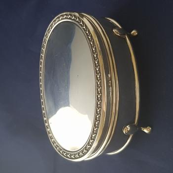 1913 Arthur & John Zimmerman Sterling Silver Trinket Box - Fine Jewelry