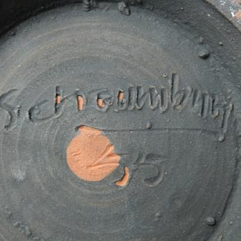 1955 Don Schaumburg Studio Pottery Bowl - Pottery