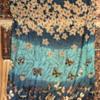 Long Silk Butterfly Scarf