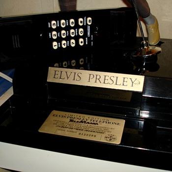Elvis Presley Telephone - Telephones