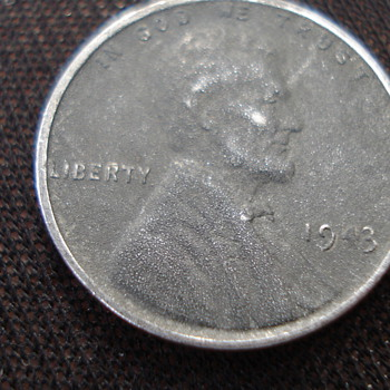 1943 ONE CENT - US Coins