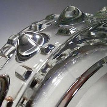 CZECH BUMPY ASHTRAY -- Frantisek Peceny - Art Glass