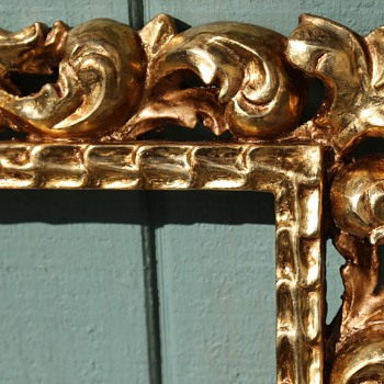 Beautiful Gilded Frames I had Made in Mexico - Fine Art