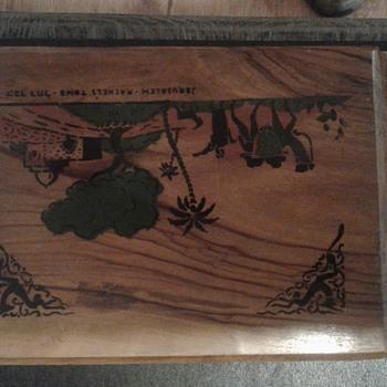 Olive wood photo album - Photographs